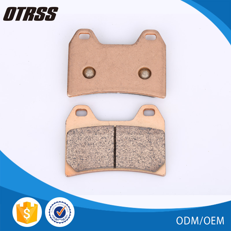 Top quality China sintered motorcycle spare parts brake pad for APRILIA