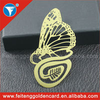 China personalized cheap beauty metal bookmarks wholesale