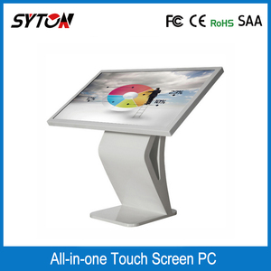 Touch Kiosk Standalone Multimedia,full hd lcd digital signage
