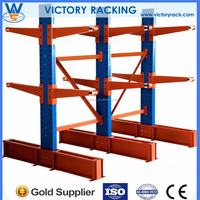 Nanjing Supplier Hot Promotion New Design Global Popular China Selective Single or Double Arm Cantilever Racking