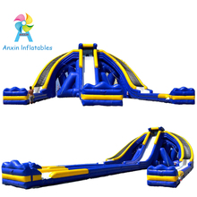 Outdoor Largest Giant inflatable Trippo Water Slide on Beach for adult