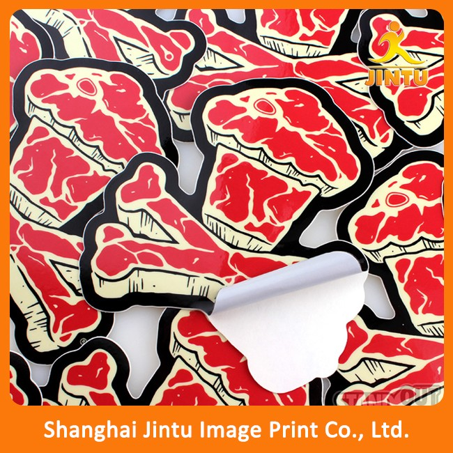 High quality uv protection pvc vinyl window sticker decal for promotion
