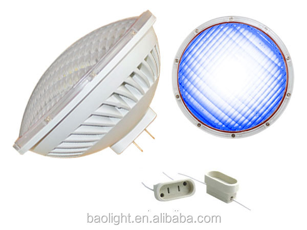 par56 pool led light 36W 54W 100lm/W par56 led lamp gx16d base 12V 120v 230v par 56 led