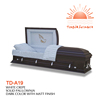 TD--A19 carved wood wood box casket coffin funeral business