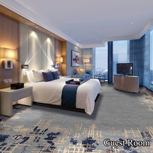 Hot Sell 80% Wool 20% Nylon Wall Wall Carpet For Hotel Room
