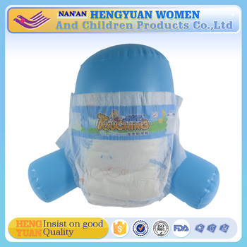 Breathable Ultra-thin High absorbency baby diapers