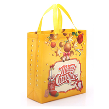 2017 Popular oem goody ideas christmas decoration gift packing bag