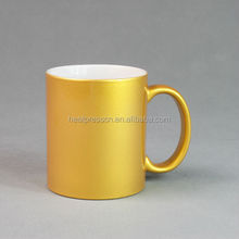 Sublimation Pearl Mug Gold Colour PM