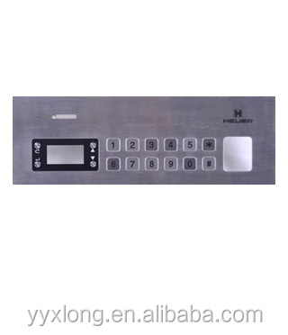 hot sell metal waterproof outdoor keypad standalone access control used keypad with display window