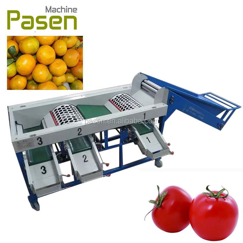 Fruit grading machine/ vegetable sizer machine/sorting grading machine of fruits and vegetables
