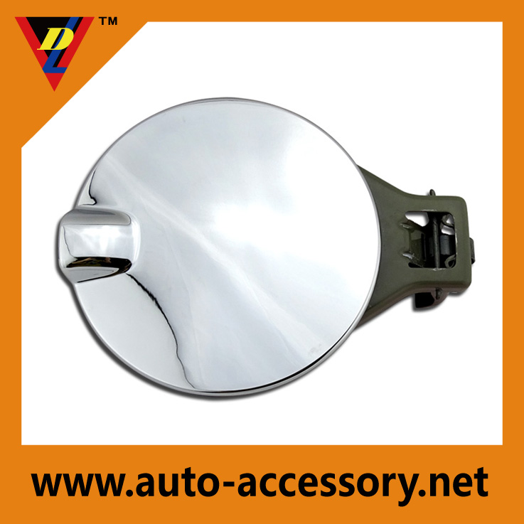 Chevrolet spare parts plastic chrome car fuel tank cover for 2014-2015 silverado accessories