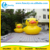 0.6MM PVC Tarpaulin 2M-8M inflatable rubber duck on lake/ sea