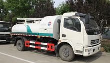 Dongfeng 4*2 sewage suction truck 6CBM sewer suction vacuum truck