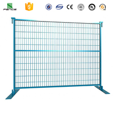 High Standard Temporary Construction Fence, Removable Fence, Galvanized Canada Temporary Fence
