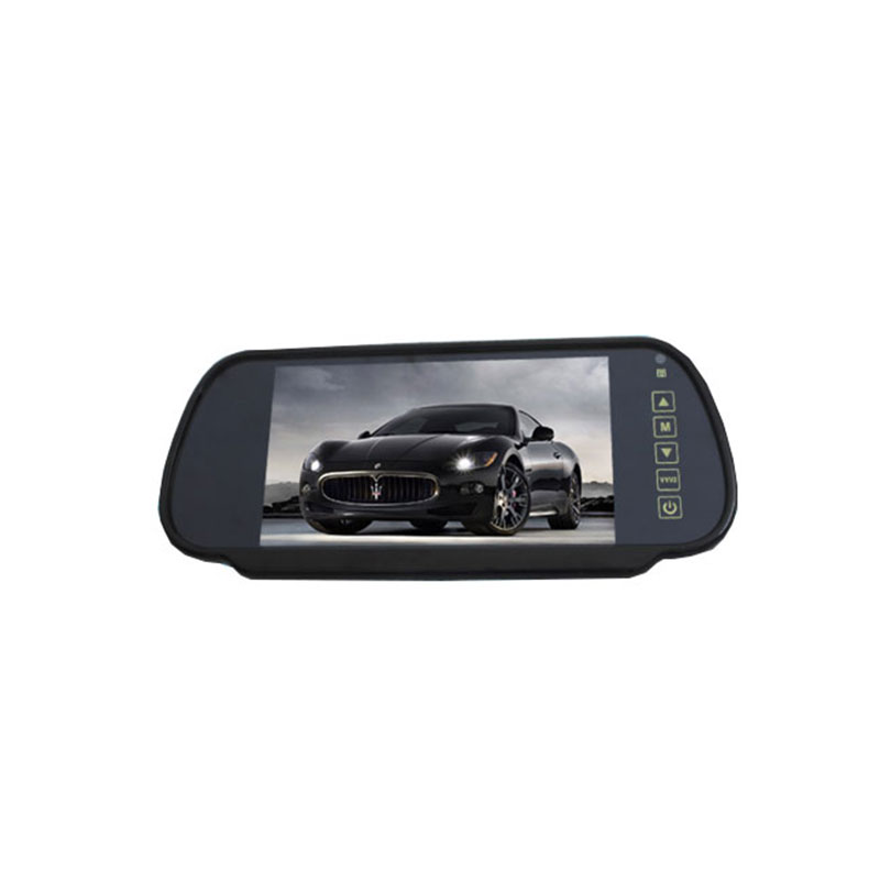7 inch car lcd monitor cctv rearview mirror