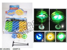 New hot vendido intermitente spinning top con light