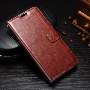 Leather case For Samsung Galaxy J7 EU (2017), Newest hot sale Flip Leather cover with card slot wallet stand phone shell