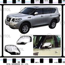Chrome Door Mirror Cover For Nissan PATROL 10-on, Auto Accessories