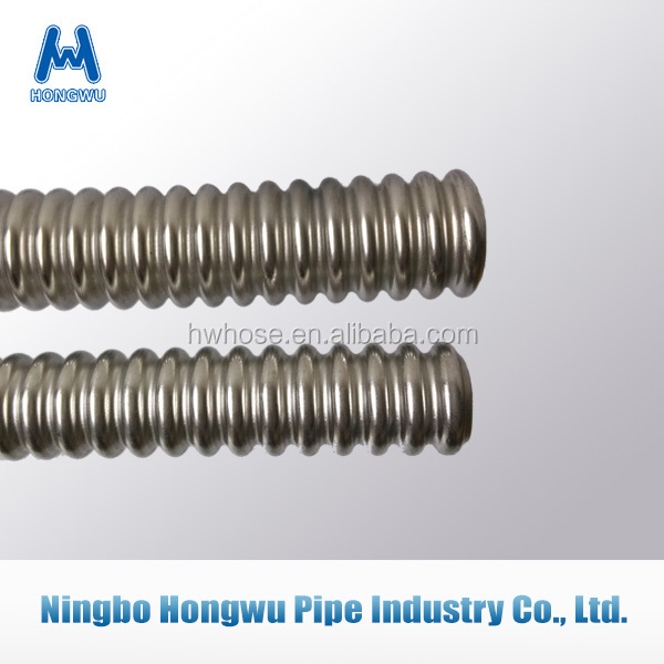 2015 Flexible stainless steel corrugated pipe