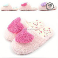 High quality indoor winter slipper shoes, love room slipper