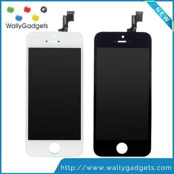 Best AAA Quality LCD For iphone 5S LCD Display Touch Screen Replacement Digitizer Assembly