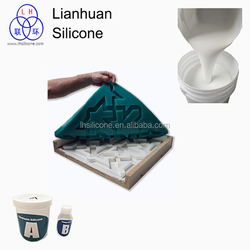 High quality soft mode silicone rtv 2 rubber for making artificial stone mould