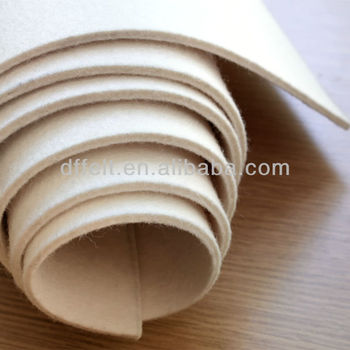 Industry wool felt in rolls
