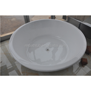 Round Built-in Cast Iron Bath tub