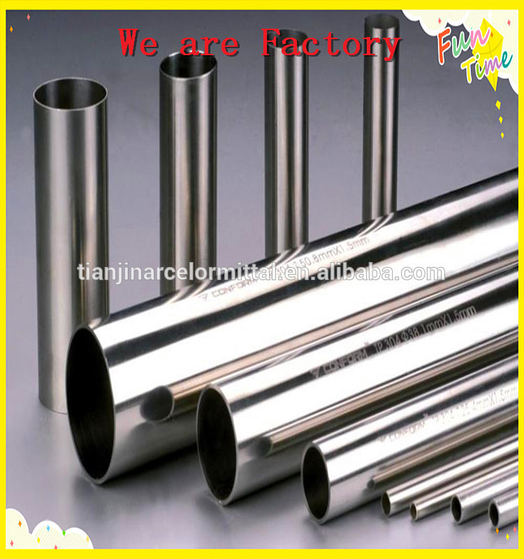 Thin wall small diameter stainless steel tubing welded