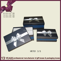 Wholesale black cardboard magnetic paper box with lid