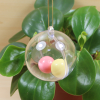 top sale wholesale display small inflatable clear plastic ball