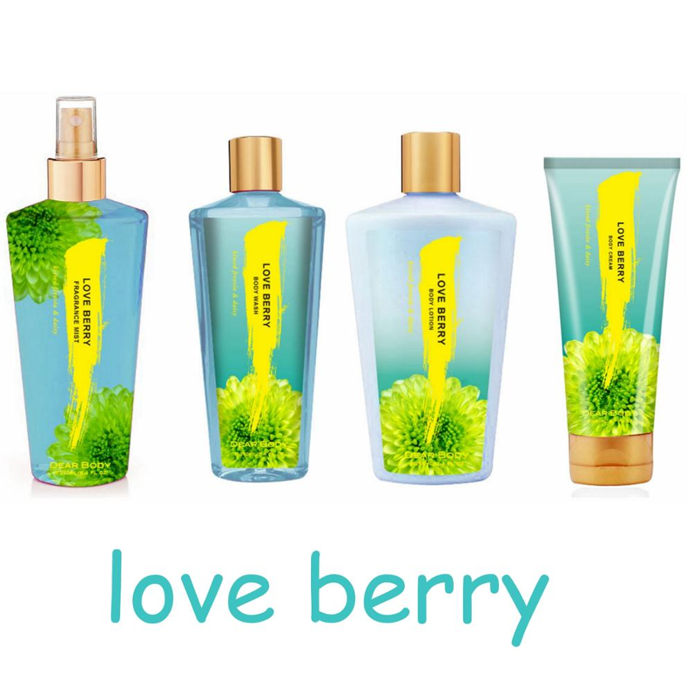 OBM(Original Brand Manufacturer)Supply Body Cream Lotion Bath Perfume Gift Sets for Wholesale
