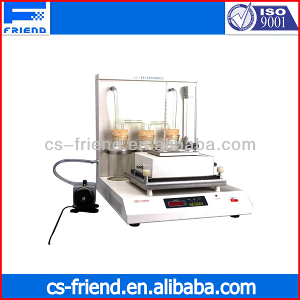 benzene product tester evaporation residues