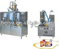 Semi-automatic Soy Milk Filling and Sealing Machine