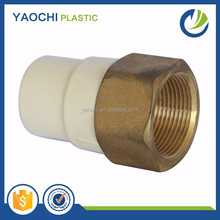Water pipe fitting ASTM2846 standard CPVC material female copper thread coupling