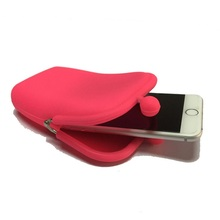 Universal Cheap Fashion Waterproof Wallet Silicone Mobile Purse Bag