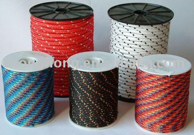 Polyseter Rope with Twisted rope or Braided rope,Customized Packing are welcome