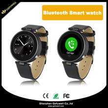 Smart Bluetooth Watch with Round Dial ,Water Resistant ,Real leather Comfortable band