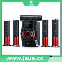 2015 New Design 5.1 Home Theater Bluetooth Speaker System With Usb/Sd/Fm/Remote