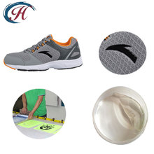 thick plate white water based ink screen printing shoes ink paste for low temperature resistance