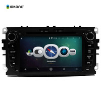 IOKONE Download GPS Software for FORD Focus 2009 2 Din Touch Screen Android 8.0 Car DVD Player