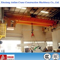 LH type warehouse used double beam electric hoist overhead crane