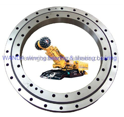 turntable bearing for earthmoving machine