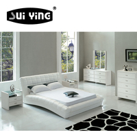 A059 New fashion design hot selling bedroom set furniture