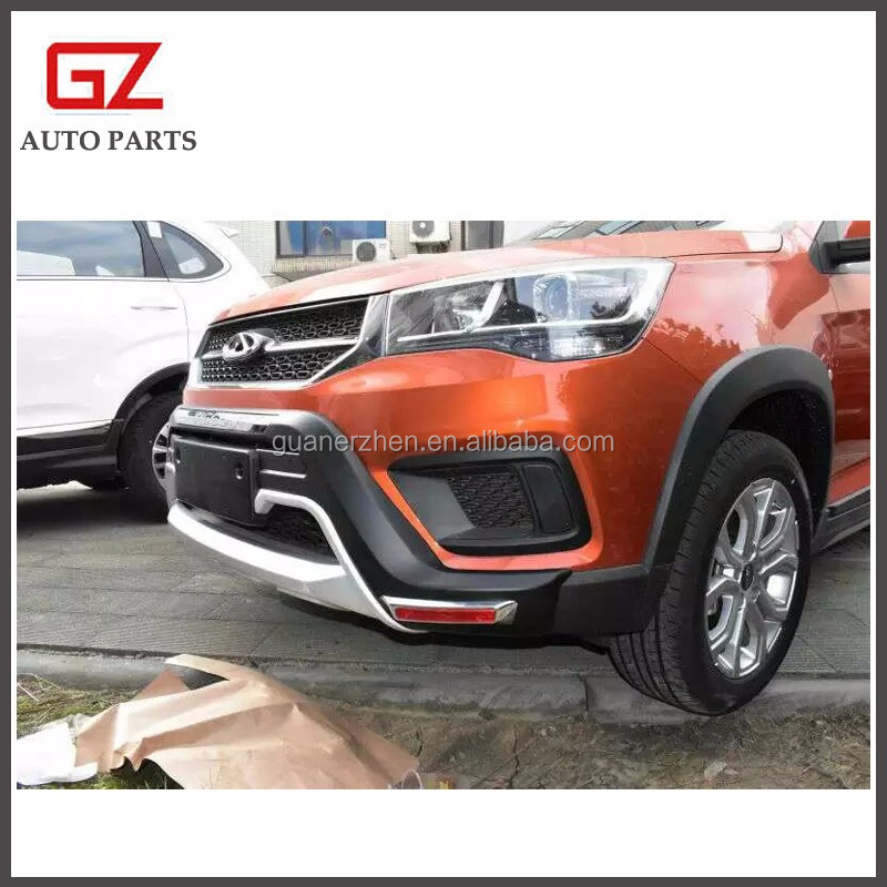 ABS plastic exterior bumper guard for Chery Tiggo 3X car