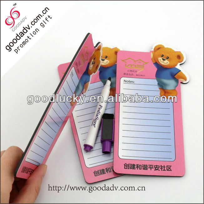 Multifunctional refrigerator magnet memo board / writing slate board
