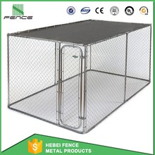Cheap Large outdoor dog kennels / iron dog kennel/modular dog kennel