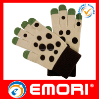 AcrylicTouch Screen Winter Motorcycle Warm cheap winter knit gloves