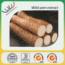 Wild yam extract free sample natural progesterone KOF-K HACCP certified factory supply 5%-98% diosgenin wild yam powder extract