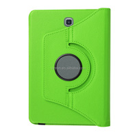 eco-friendly green lychi PU leather case for ipad air 2 case